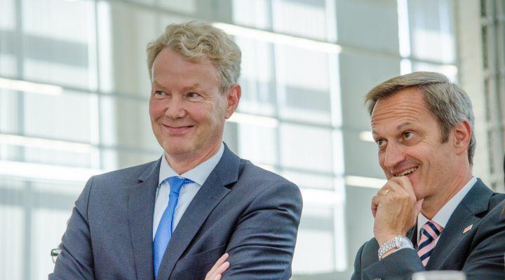 Christian Amsinck und Markus Ochsner