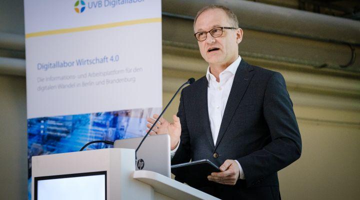 UVB-Geschäftsführer Sven Weickert