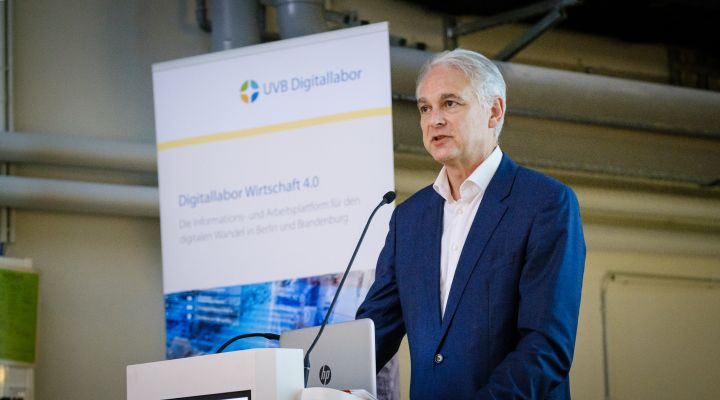 Prof. Dr. Thomas Thiessen, Konsortialleiter Mittelstand 4.0-Kompetenzzentrum Kommunikation