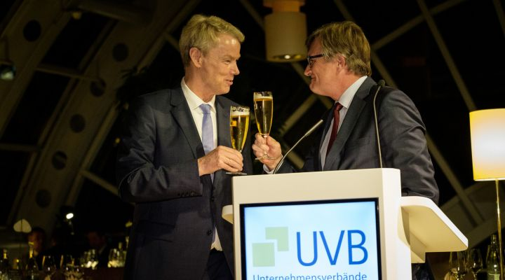 Christian Amsinck und Dr. Frank Büchner