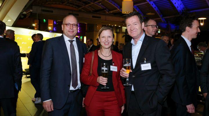 Berlins Wirtschaft auf dem UVB-Bierabend