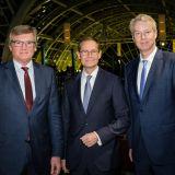 Dr. Frank Büchner, Michael Müller und Christian Amsinck