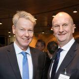 Christian Amsinck und Dietmar Woidke