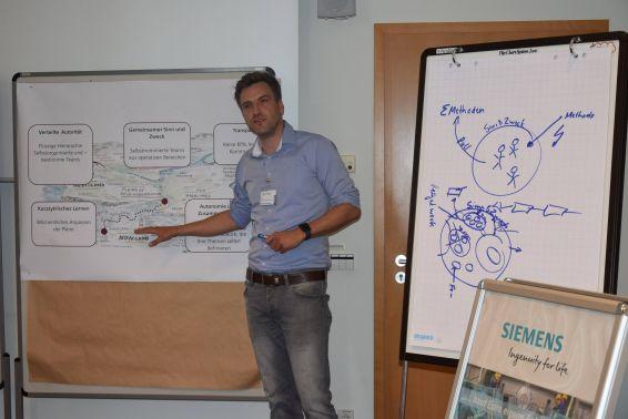 Siemens präsentierte eine agile Organisationseinheit