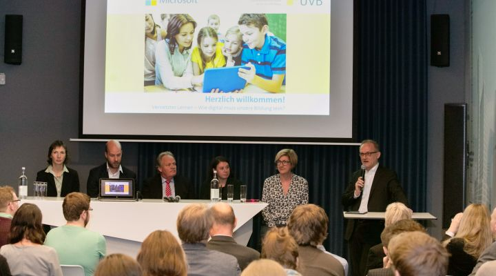 Digitale Bildung - Podiumsdiskussion