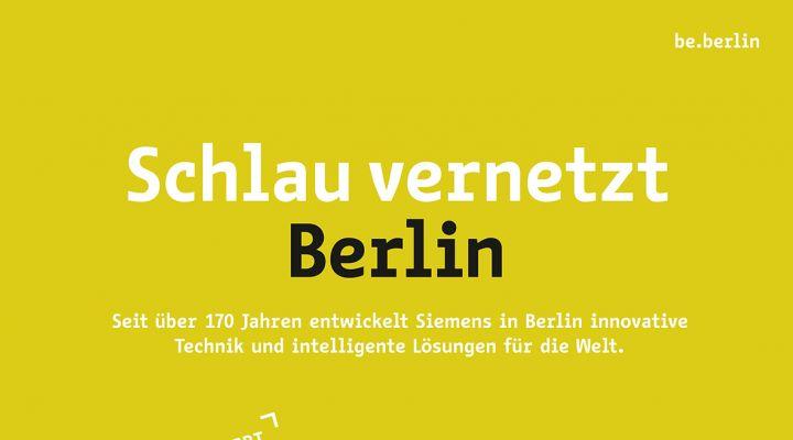 Industriekampagne #berlinproduziert SIEMENS