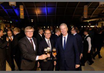 Dr. Frank Büchner, Michael Müller, Christian Amsinck