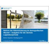 Reform der Alterssicherung - Präsentation