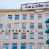 Das Haus der Wirtschaft am Schillertheater