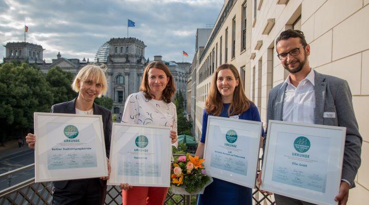 Berlins familienfreundlichste Unternehmen ausgezeichnet