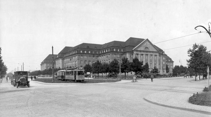 Siemensstadt: Die Hauptverwaltung im Jahr 1925