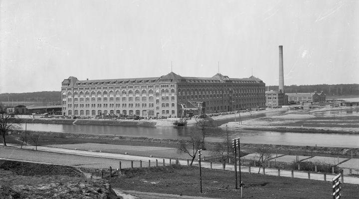 Siemensstadt: Kabelwerk im Jahr 1899