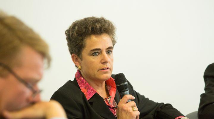 Dr. Patricia Solaro, Mitglied der Geschäftsleitung des Zentralverbandes Elektrotechnik- und Elektronikindustrie (ZVEI)