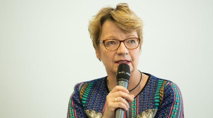 Prof. Dr.-Ing. Burghilde Wieneke-Toutaoui, Präsidentin der Technischen Hochschule Brandenburg