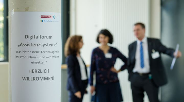 Digitalforum Assistenzsysteme