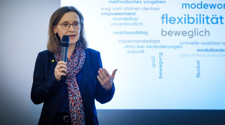 """Abschlusspräsentation Digitalforum """"Führen"""" 2019"""