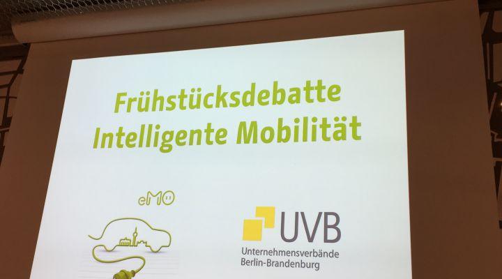 Frühstücksdebatte Intelligente Mobilität