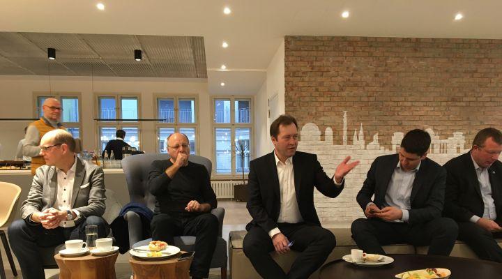 Frühstücksdebatte Intelligente Mobilität 01.03.2019