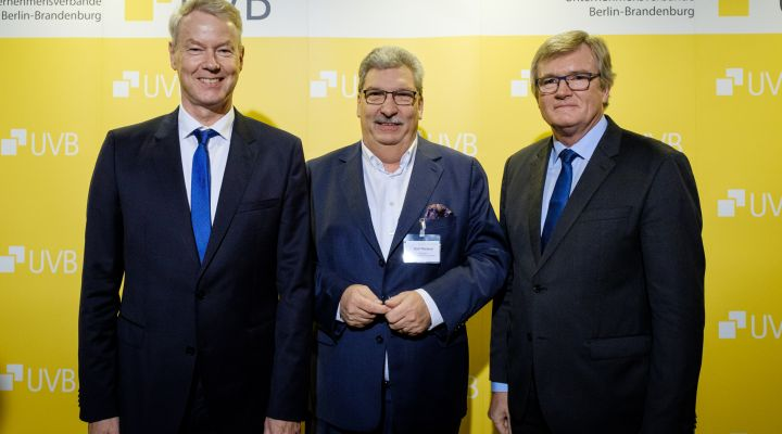 UVB-Bierabend 2019: Christian Amsinck, Ralf Wieland, Dr. Frank Büchner