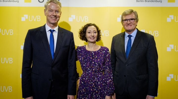 UVB-Bierabend: Christian Amsinck, Ramona Pop, Dr. Frank Büchner