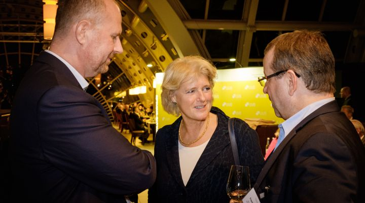 UVB-Bierabend 2019, Prof. Monika Grütters, Frank Balzer