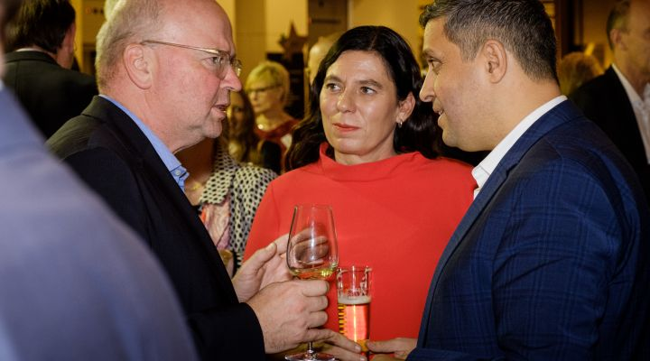 Bierabend, UVB, 2019, KaDeWe, Markus Voigt, Sandra Scheeres, Raed Saleh