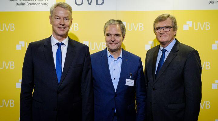 UVB-Bierabend, Christian Amsinck, Burkhard Dregger, Dr. Frank Büchner