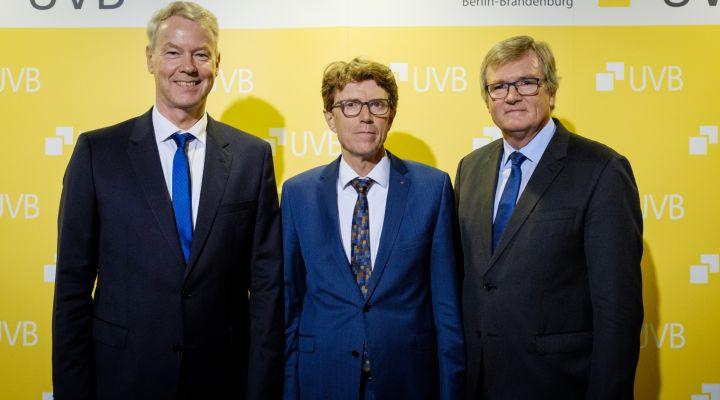 UVB-Bierabend 2019, Christian Amsinck, Engelbert Lütke Daldrup, Dr. Frank Büchner