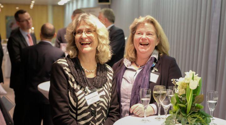 Sabine Schudoma und Dietlinde-Bettina Peters