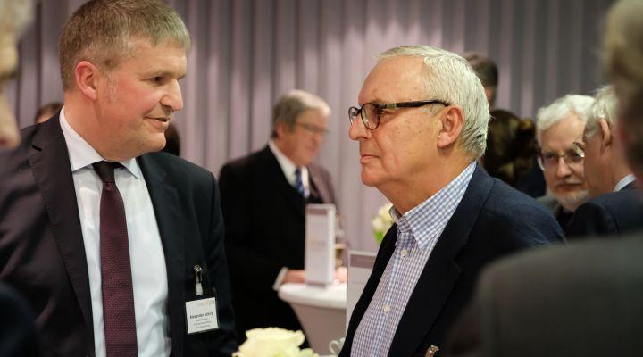 Alexander Schirp und Werner Gegenbauer
