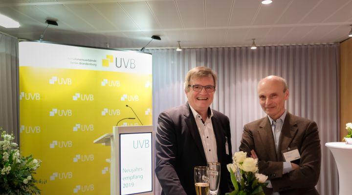 Dr. Frank Büchner und Konrad Wiebalck