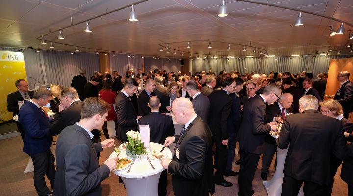200 Gäste beim UVB-Neujahrsempfang
