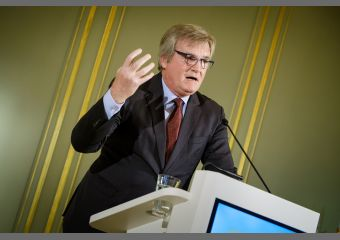 UVB-Präsident Dr. Frank Büchner auf dem Unternehmertag der Wirtschaft 2019