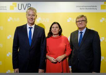 UVB-Bierabend, Christian Amsinck, Sandra Scheeres, Dr. Frank Büchner