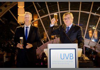 UVB-Bierabend 2019: Christian Amsinck und Dr. Frank Büchner