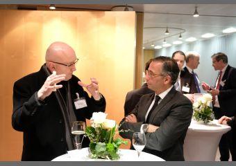 Prof. Ulrich Weinberg und André Sinanian