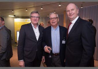 Dr. Frank Büchner, Werner Gegenbauer und Dr. Dietmar Woidke