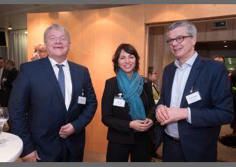 Bernd Becking, Susanne Karawanskij und Florian Engels