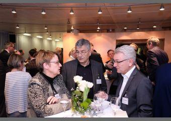 Burghilde Wieneke-Toutaoui, Helmut Barthel und Mike Bischoff