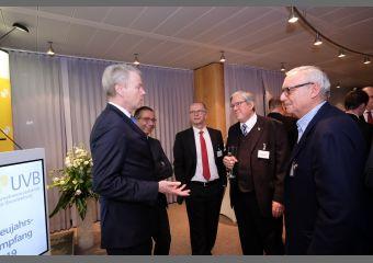 Christian Amsinck, André Sinanian, Elmar Stollenwerk, Jörg Steinbach und Werner Gegenbauer