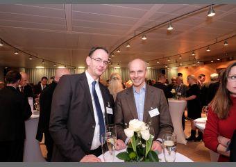 Andreas Schulz und Konrad Wiebalck
