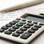 Buchhaltung, Kalkulation, Taschenrechner