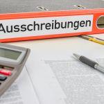 Vergabegesetz, Ausschreibungen, Ordner, Vergabe-Mindestlohn