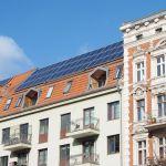 Solaranlage auf einem Haus in Berlin