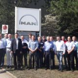 Teilnehmer der Studienreise 2018 bei MAN Diesel & Turbo SE in Berlin