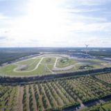Brandenburg, Lausitz, Lausitzring, Windräder, Teststrecke, Eurospeedway