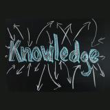 knowledge, blackboard, chalk, written by hand