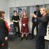 UVB-Geschäftsführer Tomsche begrüßt Arbeitsministerin Karawanskij