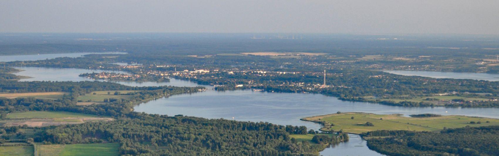 Luftbild, Brandenburg, Landschaft