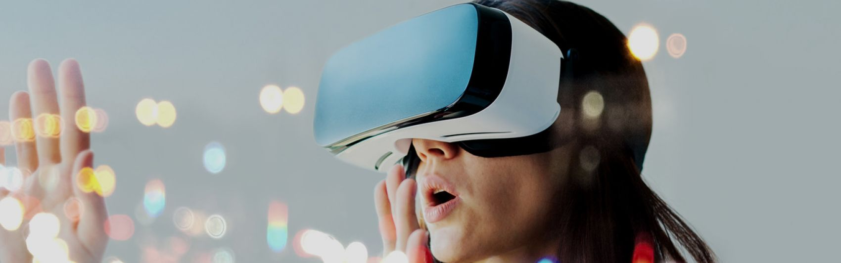 female; vr; future; technology; virtual; reality; glasses; entertainment; digital; device; looking; simulation; innovation; electronic; vision; gaming; futuristic; game; leisure; experience; visual; tech; man; science; person; people; hi-tech; world; play